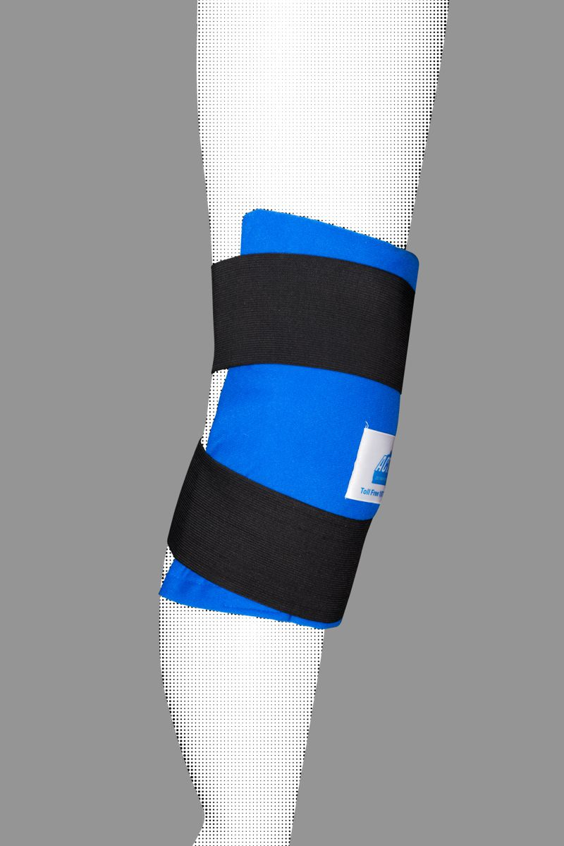Soft Gel Knee Ice Wrap