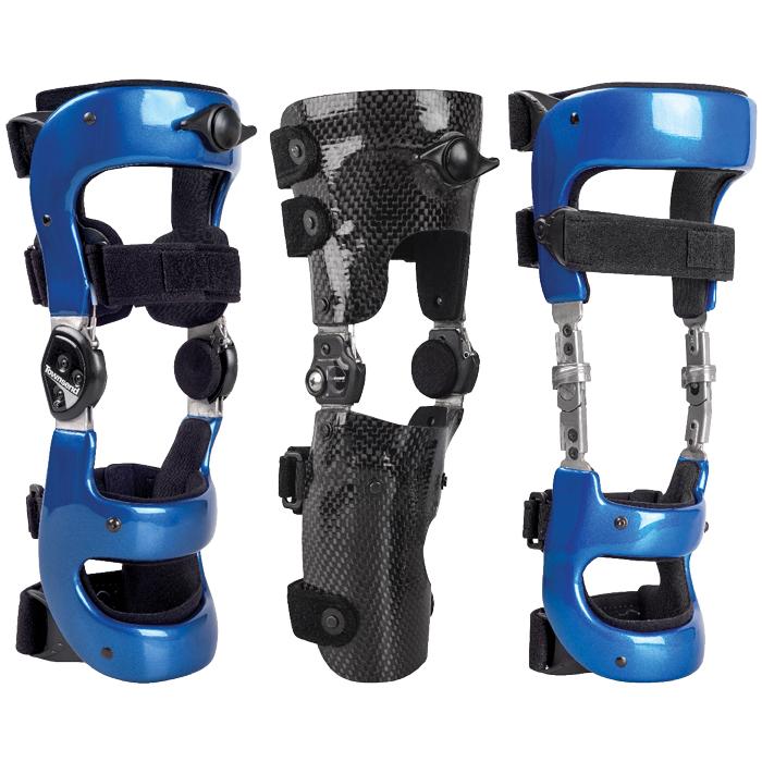 Custom Carbon Locking Knee Braces