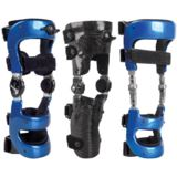 Custom Carbon Locking Knee Braces
