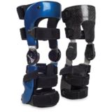 Custom Carbon Polio Style Knee Braces