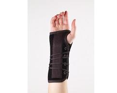 Suede Wrist Lacer Splint