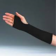 Hand Forearm Black Cotton Stockinette / 1 PR