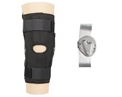 "Sport Series Knee Brace 12"" Anterior Closure w/Standard Hinge"