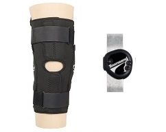 "Sport Series Knee Brace 12"" Anterior Closure w/TM5+ Hinge"