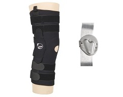 "Sport Series Knee Brace 16"" Pull On w/Standard Hinge"