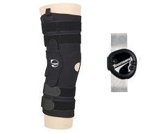 "Sport Series Knee Brace 16"" Pull On w/TM5+ Hinge"