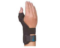 Suede Thumb Support Short