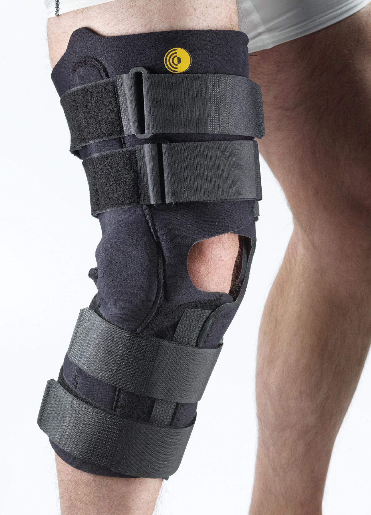 """16"""" Anterior Closure Knee Wrap w/ Hinge"""