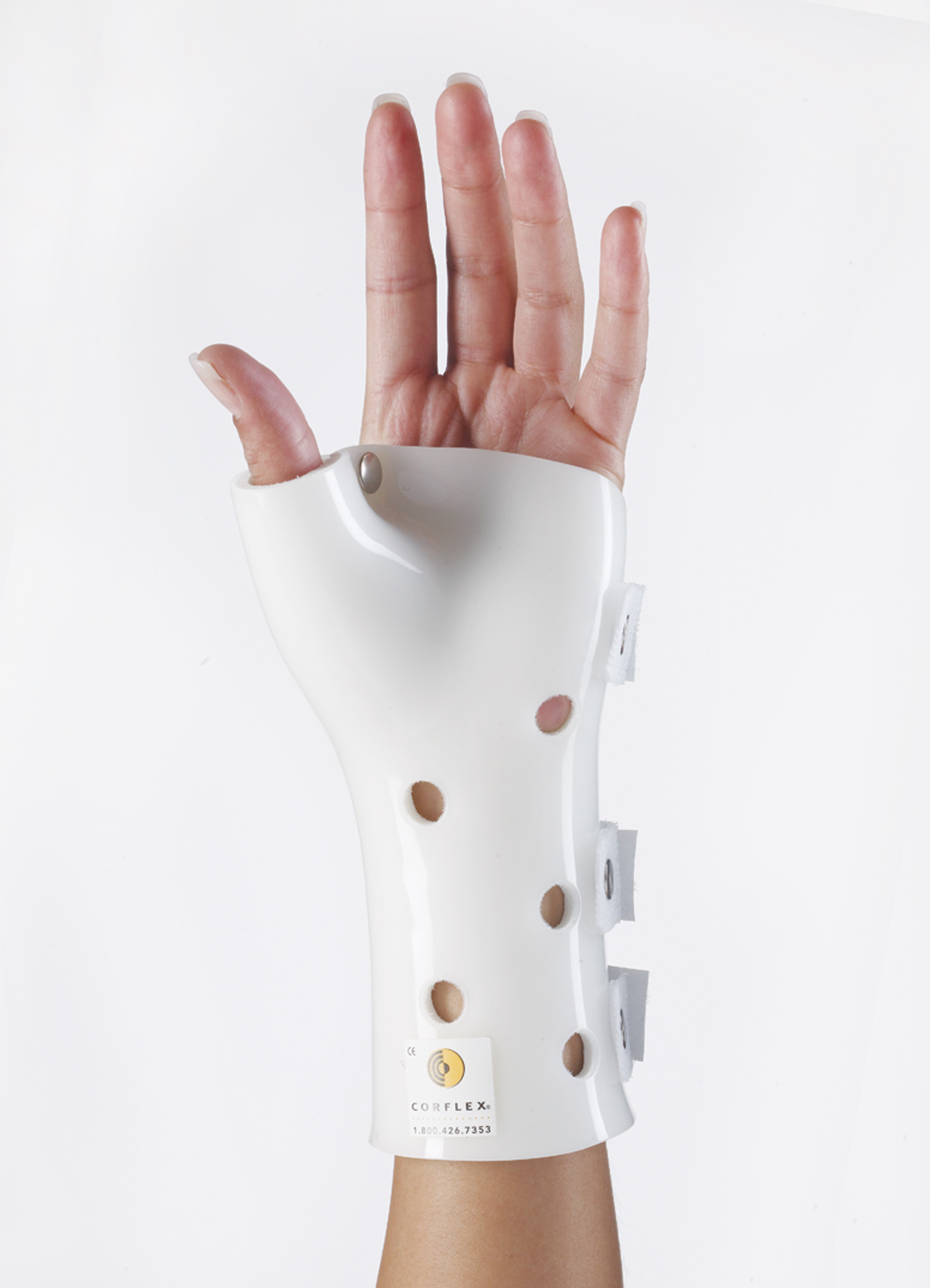 Wrist/ Hand/ Thumb Orthosis (White)