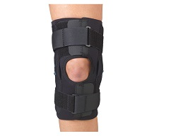 "Gripper 12"" Hinged Knee w/Neoprene 3/16"""