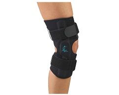 "Gripper 12"" Hinged Knee w/ROM Hinges"