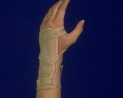 "6"" Elastic Wrist Splint"