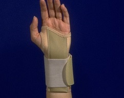 "6"" Elastic Wrist Splint w/Tension Strap"