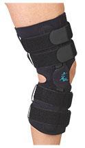 "Gripper (TM) 16"" ROM Hinge Knee Brace with Neoprene"