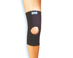 Knee Sleeve With Spiral Stays