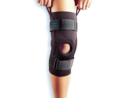 Hinged Neoprene Patella Knee Sleeve