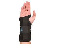 "Suede Wrist Lacer II 8"" Left"